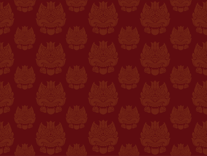 red-monster-pattern