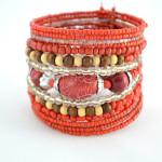 Red Beaded Bracelet 2