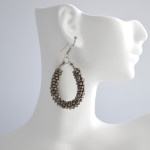 Metal Beaded Earrings 2