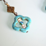 Turquoise Clover Earrings 2
